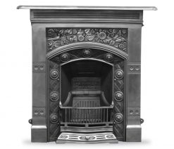 HEF056 Jekyll fireplace combination victorian cast iron polished