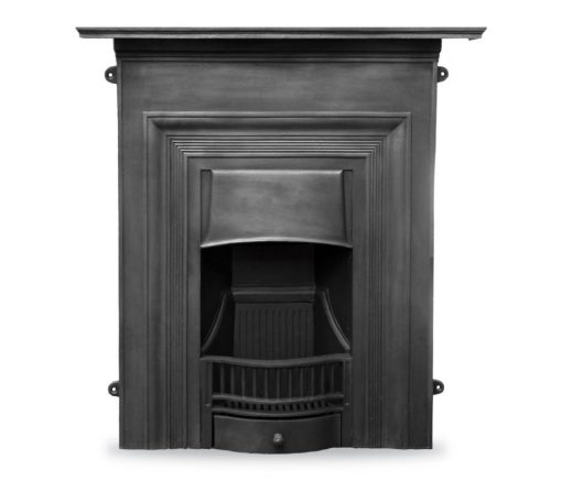 HEF352 Oxford fireplace cast iron combination Victorian cast iron by Carron frieze black