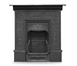 RX090 Bella fireplace cast iron Carron Victorian black