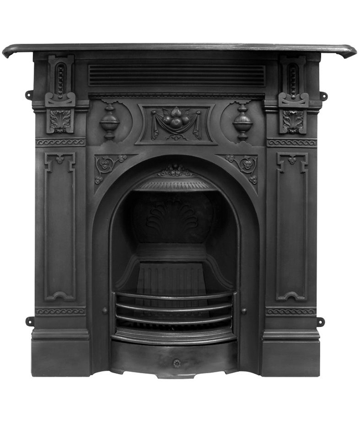 Victorian cast iron fires