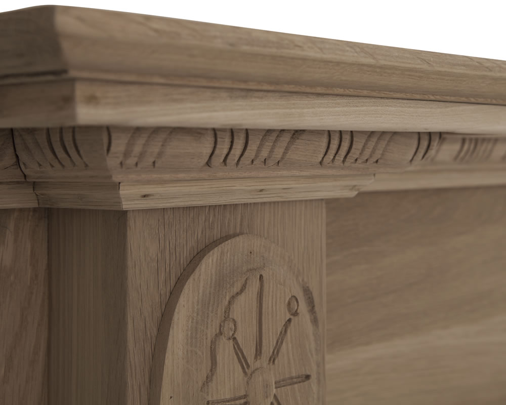 ashleigh fireplace surround solid oak pendragon fireplaces