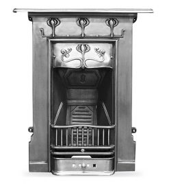 Carron Abbot polished cast iron fireplaces HEF193