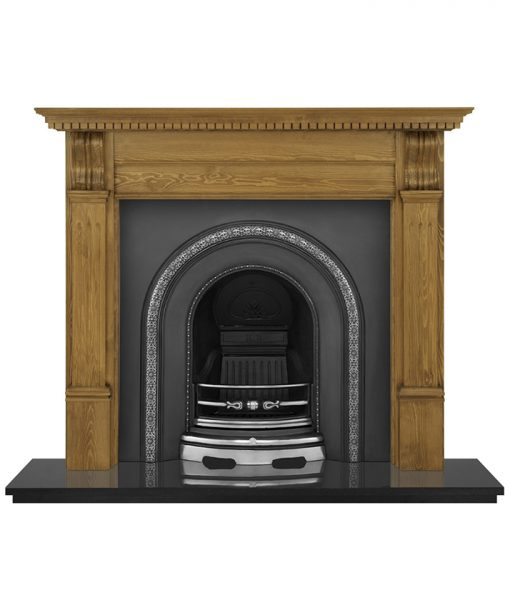 Ce Lux fireplace insert cast iron HEF304