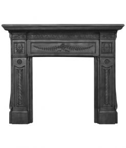 HEF345 Carron Holyrood fireplace surround in cast iron