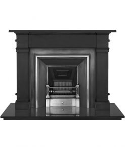 Royal fireplace insert Carron cast iron RX283
