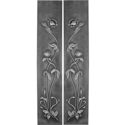 Victorian cast iron fireplace panels HEF319