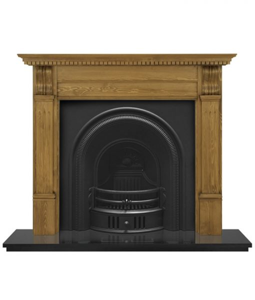 Beckingham Arch fireplace insert Carron cast iron RCM006