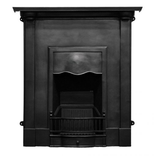 HEF354 Abingdon fireplace victorian cast iron carron fire black