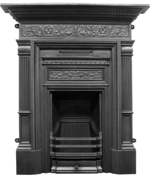 Hamden fireplace combination Victorian cast iron RX163