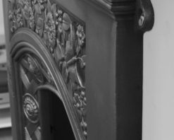 Jekyll fireplace combination victorian cast iron detail