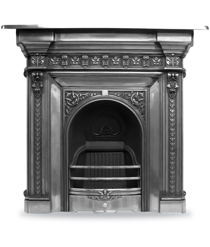 carron Fireplaces - rx094-melrose-fireplace-victorian-cast-iron-carron-combination-polished