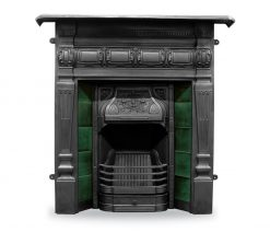 RX160 Lambourn fireplace Victorian cast iron Carron combination black