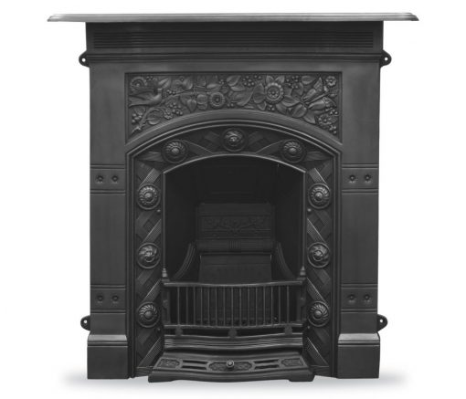 HEF403 Jekyll fireplace combination victorian cast iron black