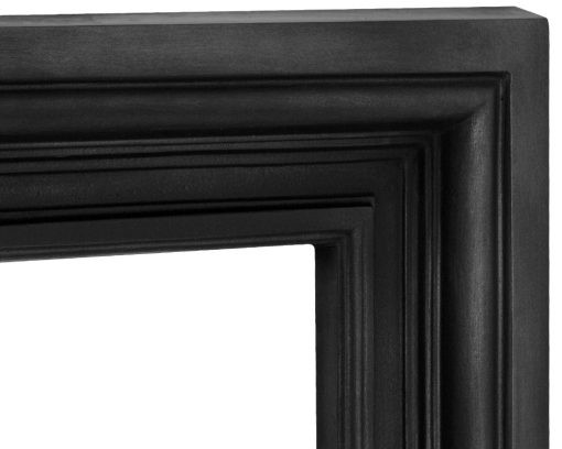 Carron Loxley fireplace surround cast iron RX321 detail