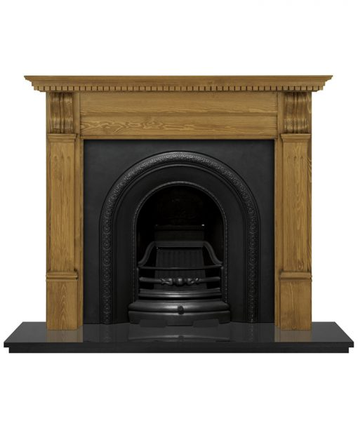 Ce Lux fireplace insert cast iron HEF321