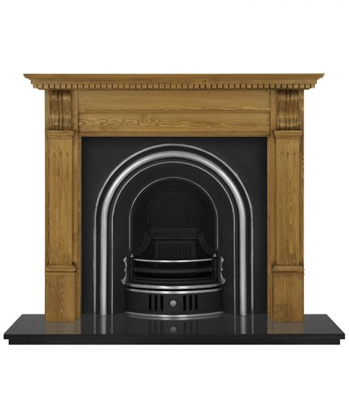 Coleby fireplace insert Carron cast iron RCM002