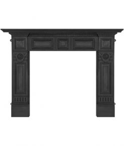 HEF311 Carron Hampton fireplace surround, cast iron