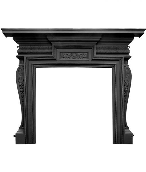 HEF356 Carron Knightsbridge fireplace surround in cast iron