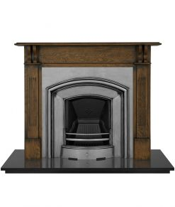 London Plate fireplace insert Carron cast iron RX091