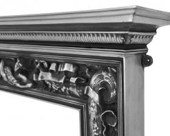 RX112 Carron Mayfair cast iron fire surround detail