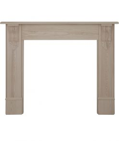 Edinburgh corbel fireplace surround unwaxed pine SMC018