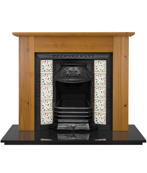 laurel tiled fireplace insert carron victorian cast iron fireplace hef343