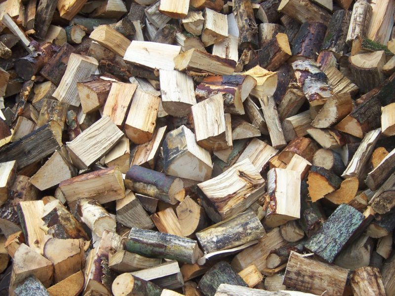 seasoned wood logs