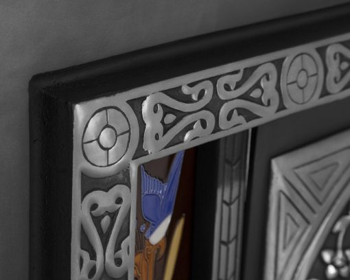 Aladdin fireplace detail RX123