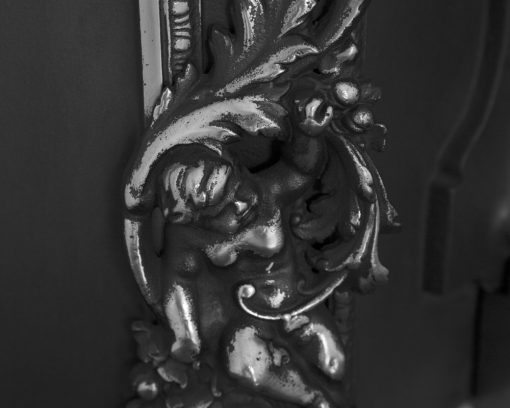 Cherub fireplace insert RX145 detail