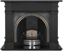 Kensington cast iron fireplace insert RX110
